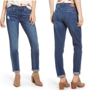 Madewell The Slim Boyjean Distressed 28
